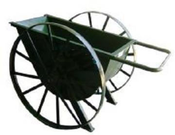 Carro Hormigonero - Rueda de hierro a Rulemanes